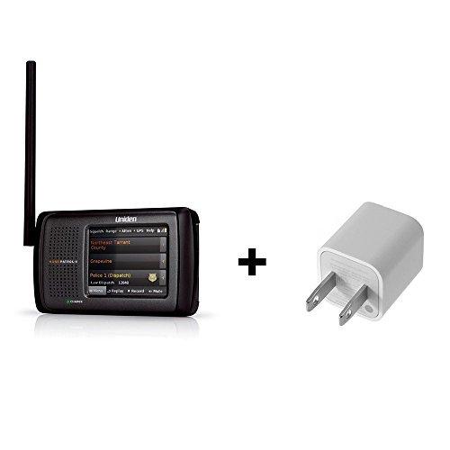 Uniden HomePatro-2 Phase II Portable Digital Scanner Bundle