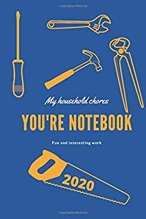My household chores ( 6 x 9 ) with 120 pages