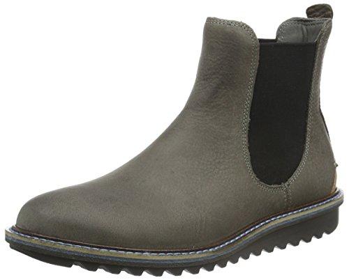 Ecco ECCO ELAINE FLATFORM, Damen Chelsea Boots, Grau (WARM GREY/WHISKY58902), 36 EU (3.5 Damen UK)