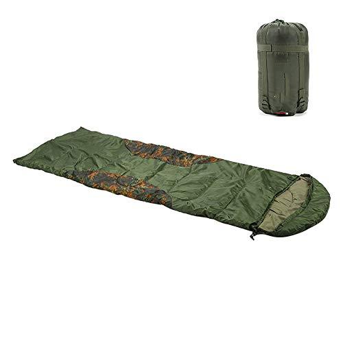 LY 190t Polyester Enduit de Soie imperméable Enduit de Soie, Sac de Couchage d'enveloppe de Sac de Couchage de Camping Sac de Couchage Peut Combattre Le Double Sac de Couchage