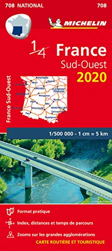 Carte France Sud-Ouest Michelin 2020
