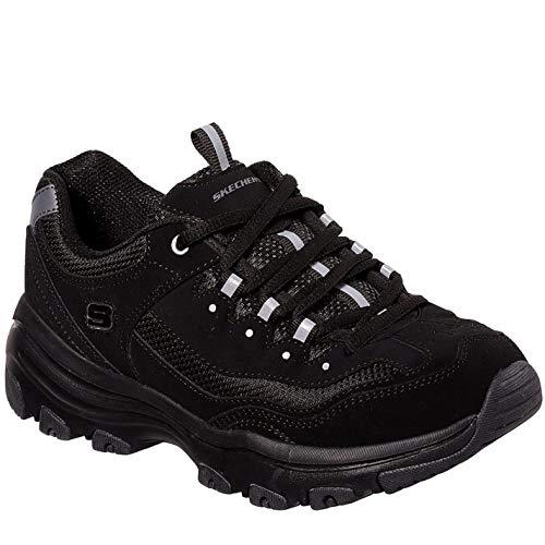 Skechers 88888250-BBK_36,5, Zapatillas Mujer, Negro, 36.5 EU