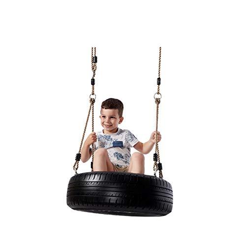 XXHDEE I bambini che giocattoli swing pneumatico 1-2-3 adulti di alta qualità a colori primari interni ed esterni giardino sul retro del pneumatico swing, facile da installare, portante circa 150kg sw