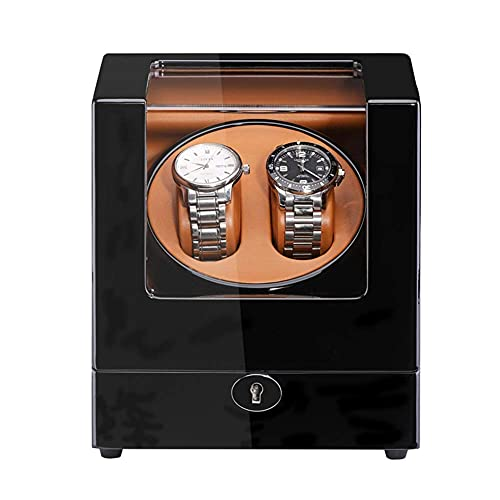 DFJU Bobinador de relógio Duplo para relógios automáticos Wood Shell Piano Paint...