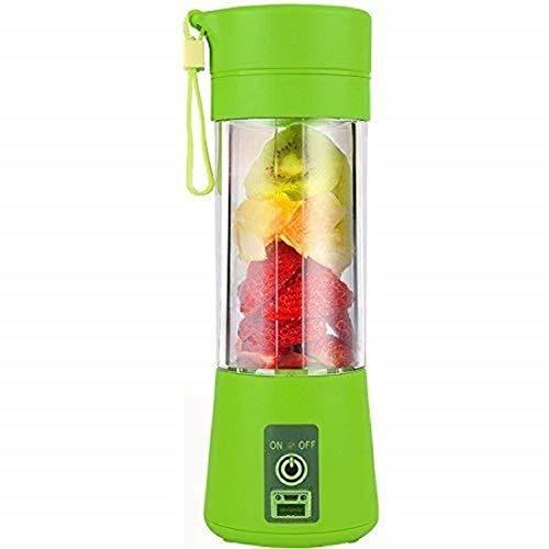 Milford Portable Electric USB Juice Maker Juicer Blender Bottle,Grinder Mixer,4 Blades Rechargeable Bottle with (Multi color)