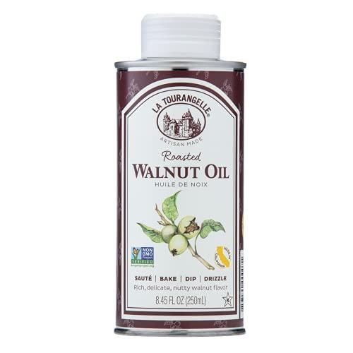 La Tourangelle, Roasted Walnut Oil, Plant-Based Source of Omega-3...