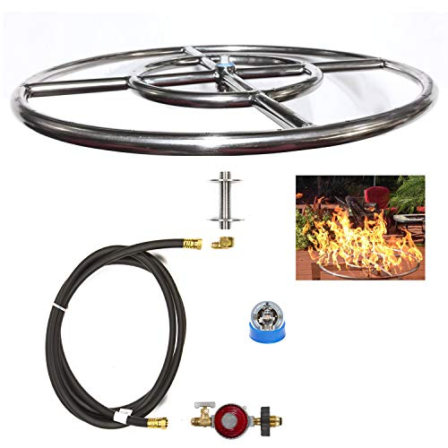 DIY Build Your Own Propane Fire Pit Kit by EasyFirePits