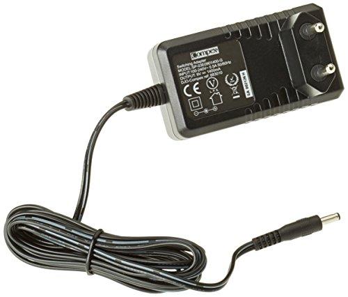 Compex - Cargador rápido de baterías para máquinas de musculación Compex, color negro