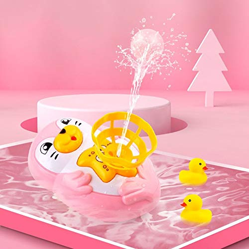 For Sale! Baby Bath Toys Water Spray Small Yellow Duck Bath Toys for Children Boys and Girls Playing...