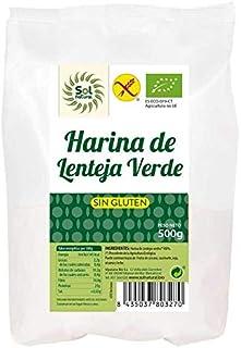 Harina de lenteja verde sin gluten Bio Sol Natural 500 g