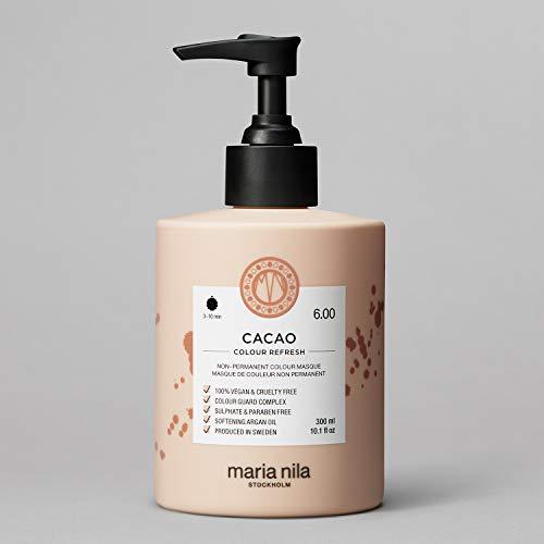 Maria Nila Colour Refresh - Cacao 300ml   Eine revolutionäre Farbmaske für mittelbraunes und dunkles Haar