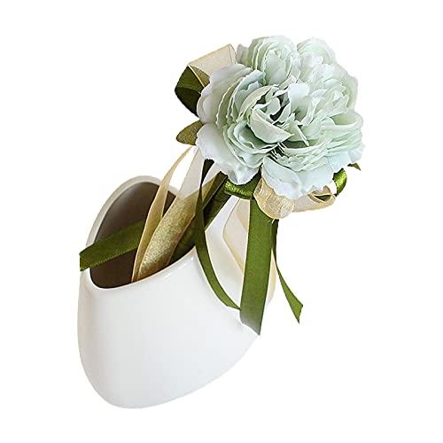 tianxiangjjeu 0.38mm encantadora forma de rosa bolígrafo de plástico artificial flor bolígrafo para aula decoración de oficina en el hogar 4