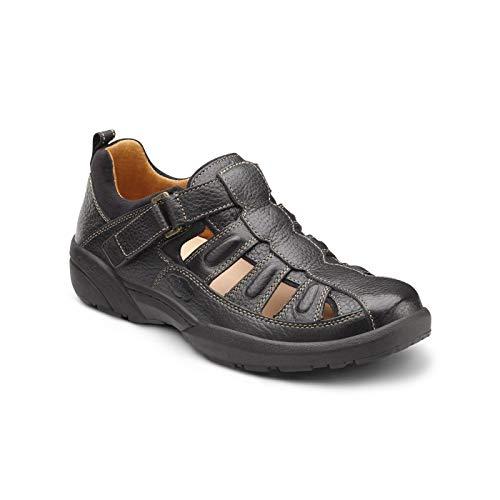 Dr. Comfort Fisherman Men's Therapeutic Diabetic Extra Depth Sandal Leather