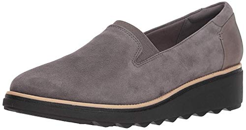 Clarks Damen Sharon Dolly Slipper, grau, 35.5 EU