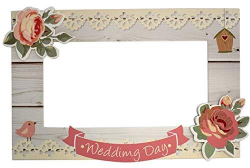 Aurora Store Cornice PhotoBooth Matrimonio Misura 54x85 cm Wedding Cornice Foto Selfie Nozze per Feste...