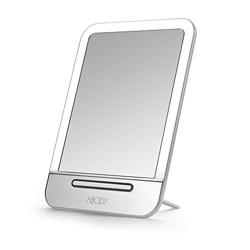 Abody Rechargeable LED Cosmetic Makeup Mirror Now $12.92 (Was 33.99)