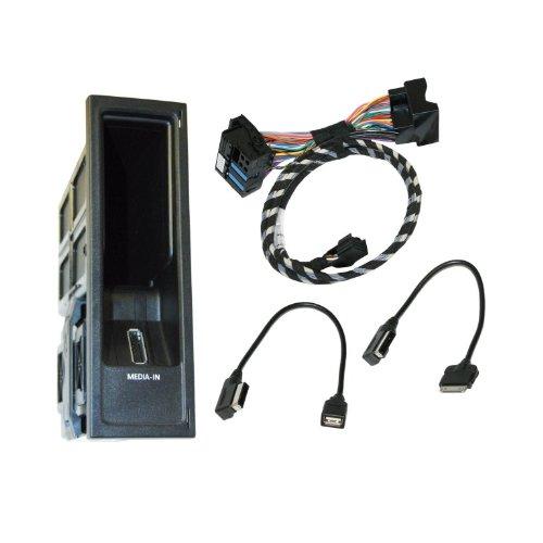 Kufatec 36219 Volkswagen MDI Multimediabuchse MEDIA - IN für iPod USB VW RCD310 RNS 510 (nur für Geräte mit Index ..A oder höher) RNS 315 RNS 310 RCD 510 (nicht für Geräte mit Index AA/ ..AB)D 310