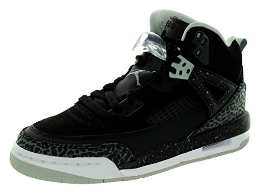 Nike Nike Jungen Jordan Spizike BG Fitnessschuhe, Schwarz/Grau/Weiß (Schwarz/Grau-Gry Mist-weiß), 37.5 EU