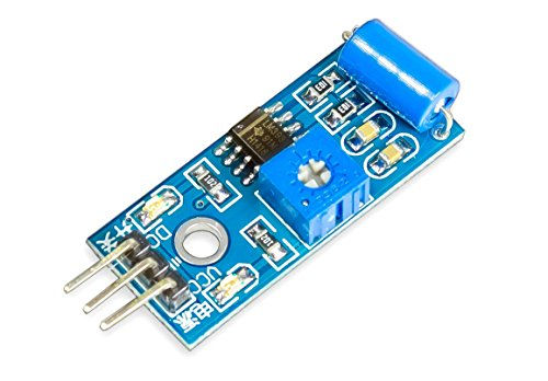 MissBirdler Vibrations Sensor Vibrationssensor LM393 SW-420 für Arduino & Raspberry Pi