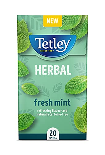 Tetley Herbal Fresh Mint 20 Tea Bags
