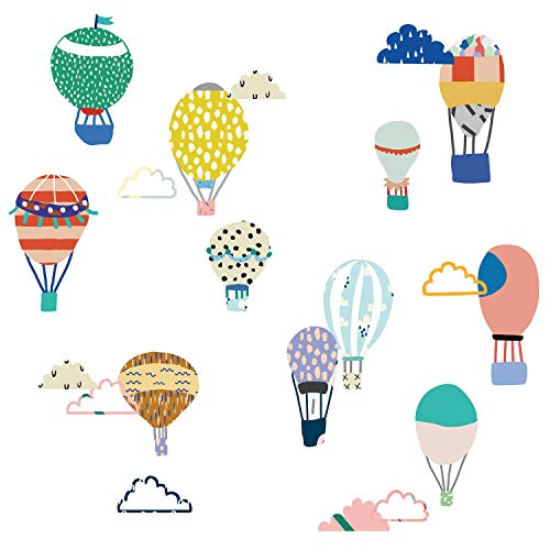 Mimilou Sticker Mural Just a Touch Petites Mongolfières
