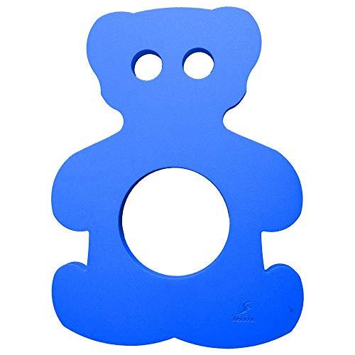 Leisis - Tapiz Flotante Con Forma De Oso 76x57x4 cm. Azul