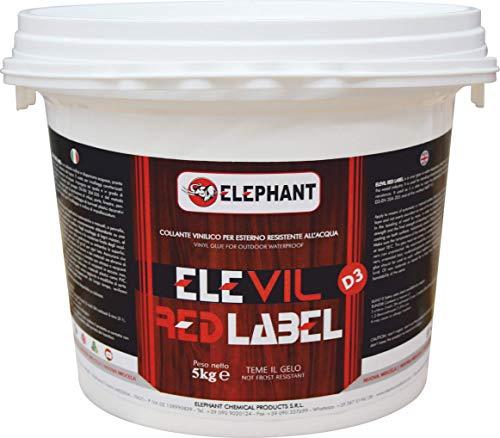 Vinyl lijm voor hout D3 ELEVIL RED LABEL - Super professionele lijm