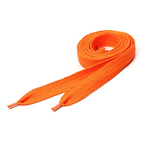 Lacets de skate- NEON ORANGE 20mm x 120cm