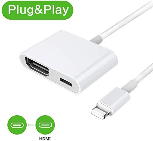 Phone auf HDMI Adapter Digital AV Adapter 1080P HDTV HDMI Kabel für Phone XS/XSmax/XR/X / 8/7/6 / Plus iPad iPod zu TV