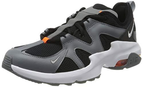 Nike Herren Air Max Graviton Laufschuhe, Schwarz (Black/White-Cool Grey-Total Orange 002), 38.5 EU