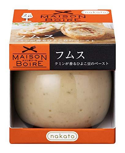 ミナト商会 nakatoフムス クミンが香るひよこ豆のペースト 95g