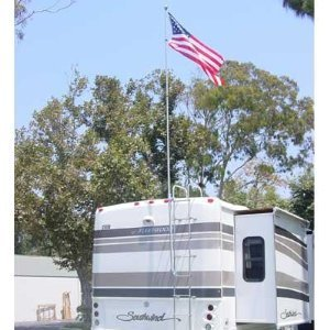 FlagPole Buddy RV Flag Pole Kit 16 Feet