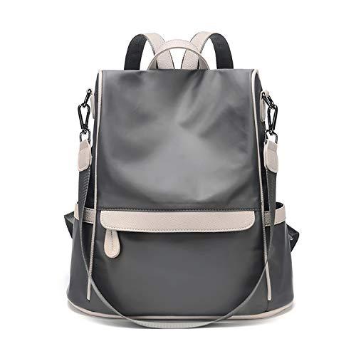 Beautiful-Day women school backpack Zaino da donna, anti-furto, impermeabile, piccolo, da viaggio, a spalla, grigio (Grigio) - shoulder-handbags