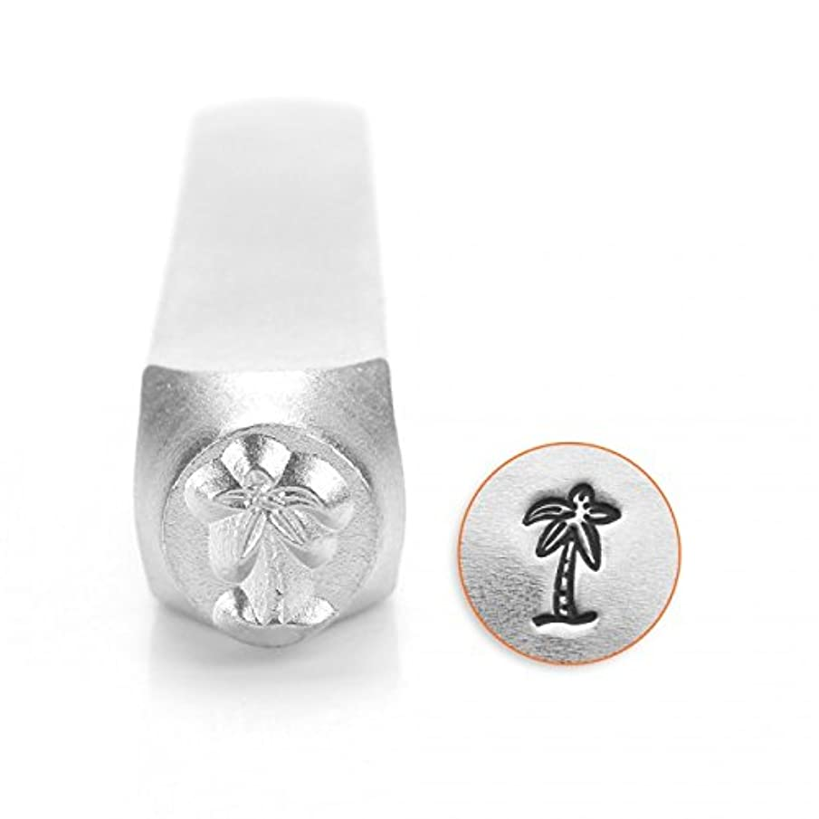 ImpressArt- 6mm, Palm Tree Metal Stamp