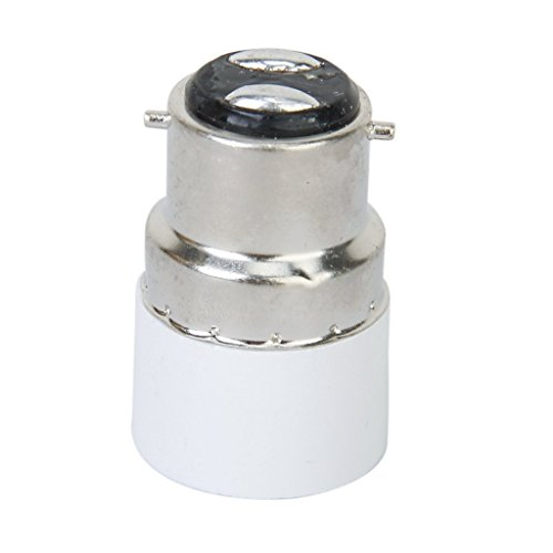 Zarfmiya B22 a E14 vite LED lampadina dello zoccolo del convertitore 'adattatore