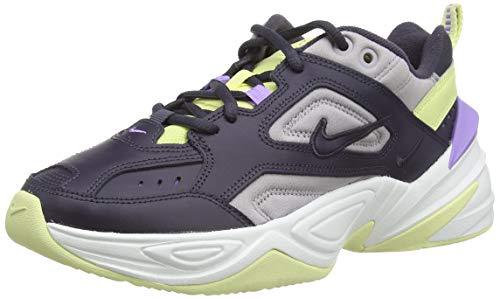 Nike W M2k Tekno, Zapatillas de Gimnasia Mujer, Verde (Gridiron/Gridiron/Atmosphere Grey/Luminous Green/Atomic Violet/Summit White 015), 39 EU