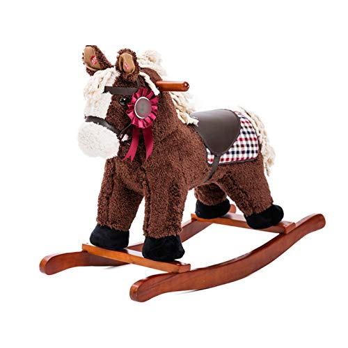 CHIFAN Ride-On Rocking Horse, Boy and Girl Rocking Animal, Infant Ride Toy, Christmas/Birthday Gift, for Boys or Girls 1-3 Years Old