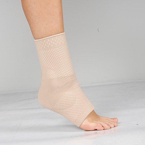 Tobillera de punto–Estabilizador de tobillo/pie–tendón de Aquiles Brace