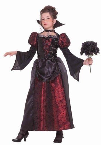 Forever Young disfraz de vampiro para niñas de lujo, disfraz de Halloween para niños