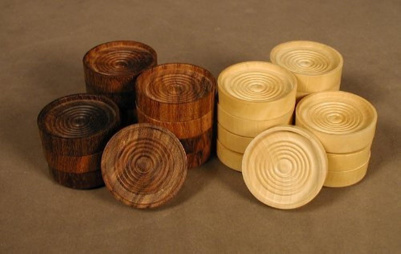 alta calidad 1.5 Wood Stacking Checkers Checkers Checkers by Worldwise Imports  los nuevos estilos calientes