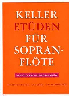 Heinrichshofen Verlag ETUEDEN - arrangiert für Sopranblockflöte [Noten/Sheetmusic] Komponist: Keller Gertrud