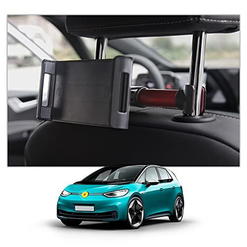 CDEFG V W ID3 ID.3 2020 2021 - Soporte para reposacabezas de coche para tableta, teléfono móvil, asiento trasero para niños, accesorio interior