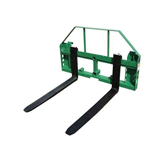Titan Attachments Pallet Fork Frame fits John Deere Loaders with 2