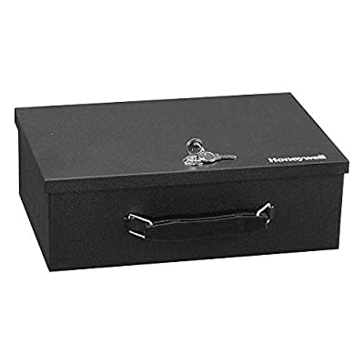 Safes & Door Locks - 6104 Fire Resistant Steel Security Safe Box with Key Lock