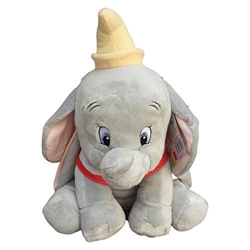 Disney - PTS- Peluche Dumbo 45cm, Colore Celeste, 1