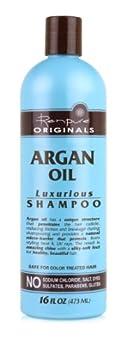 Renpure Originals Argan Oil Shampoo 16 Ounce  Pack of 2