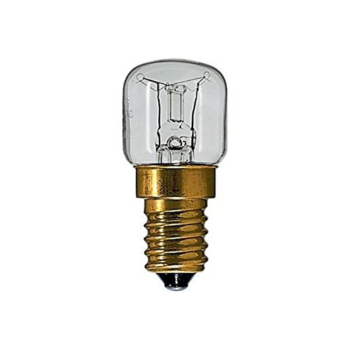 2x Osram Backofenlampe Lampe Glühbirne Glühlampe f Backofen Kühlschrank 15W E14 300° T22