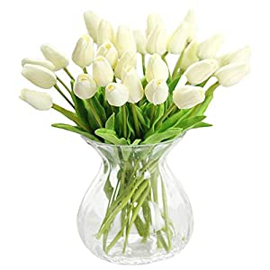 Real touch Artificial Tulip Flowers Home, Wedding and Party Decor