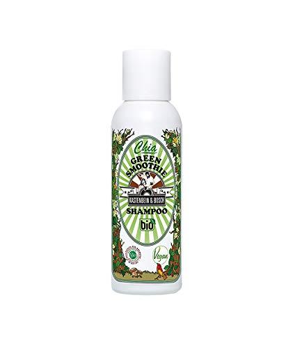 KASTENBEIN & BOSCH: Chia Green Smoothie Shampoo - Vegane Haarpflege in Naturkosmetik-Qualität für strapaziertes und beschwertes Haar (100ml)