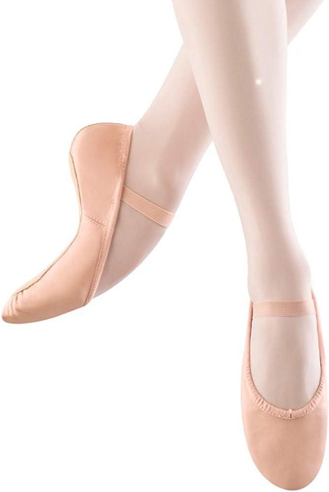 mit Vollsohle Bloch Unisex-Erwachsene Dansoft Leder-Ballettschuh